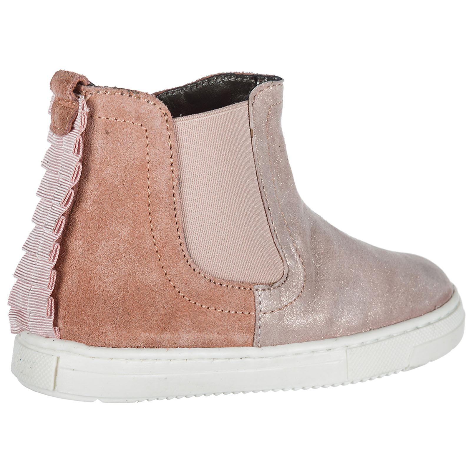 cb6b1c657b4 Women's Girls Shoes Baby Child Boots Suede Leather J336