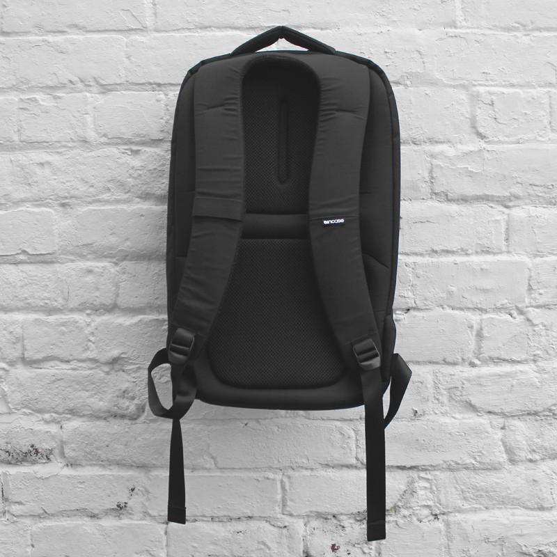 The incase nylon backpack to words