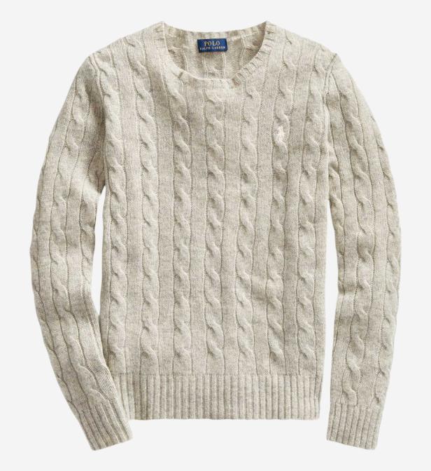 Polo Ralph Lauren - Multicolor Pull torsadé Julianna Slim Fit laine et  cachemire - Lyst. Afficher en plein écran 6ac571d1a03