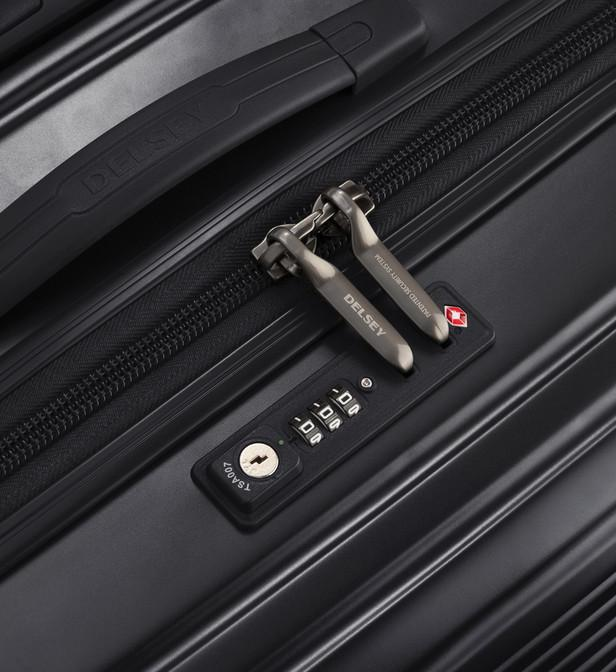 d77aed7b34 Delsey - Black Valise rigide Caumartin Plus 4R 70 cm - Lyst. Afficher en  plein écran