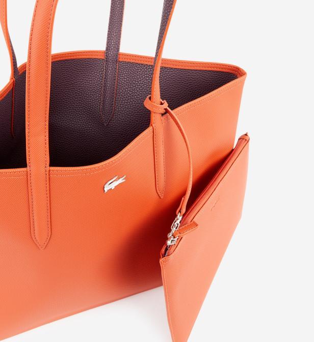 6fddcb1714 Sac shopping réversible Anna Lacoste en coloris Orange - Lyst