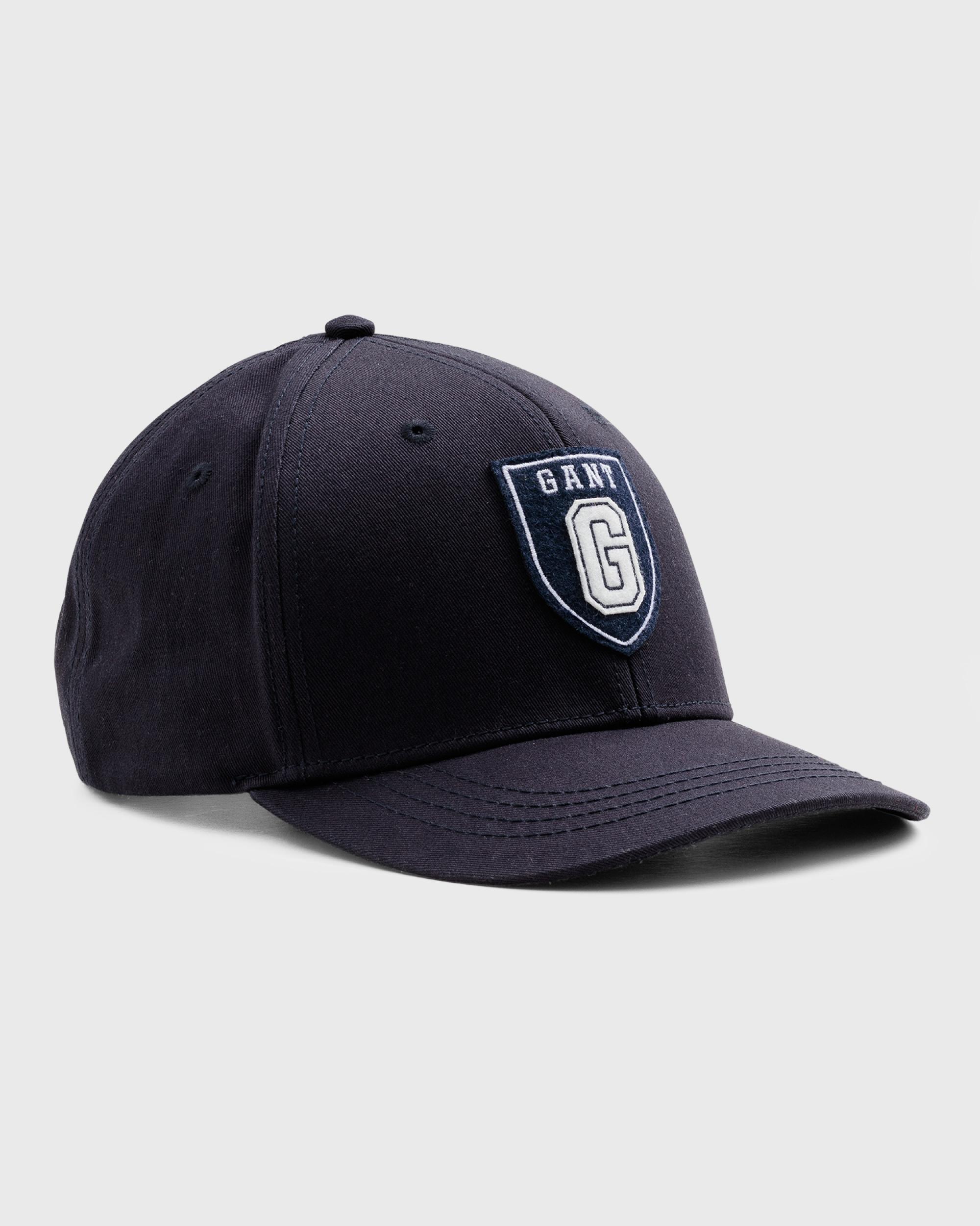 d7bc9db56b0 Gant - Blue Collegiate Twill Cap for Men - Lyst. View fullscreen