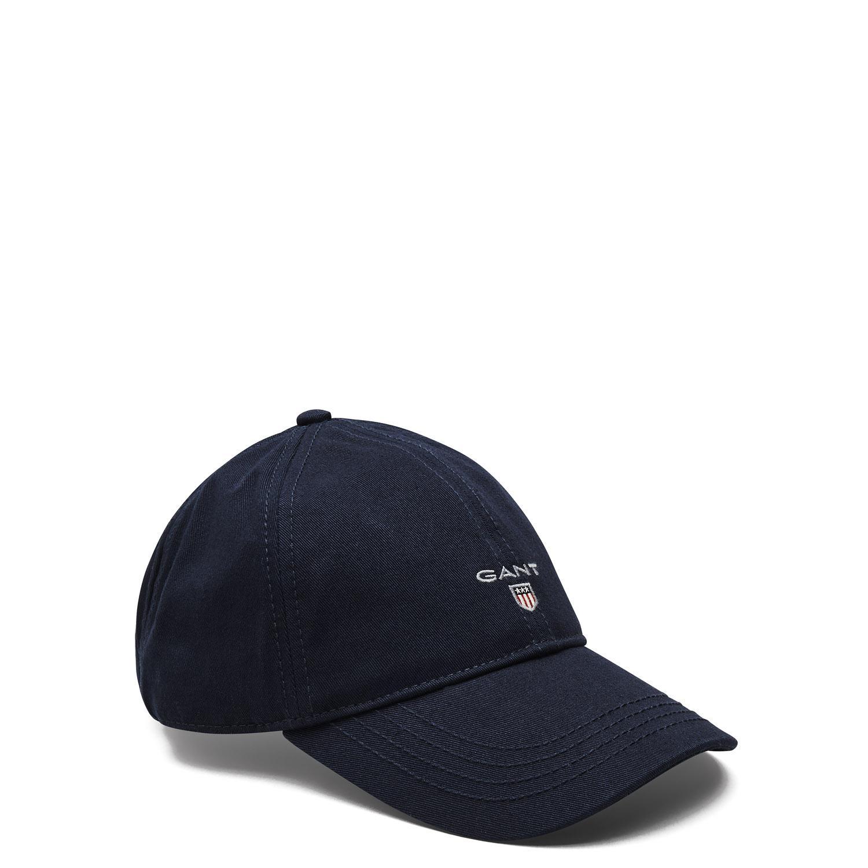 5c3acbfc3f7 Gant Twill Cap in Blue for Men - Lyst