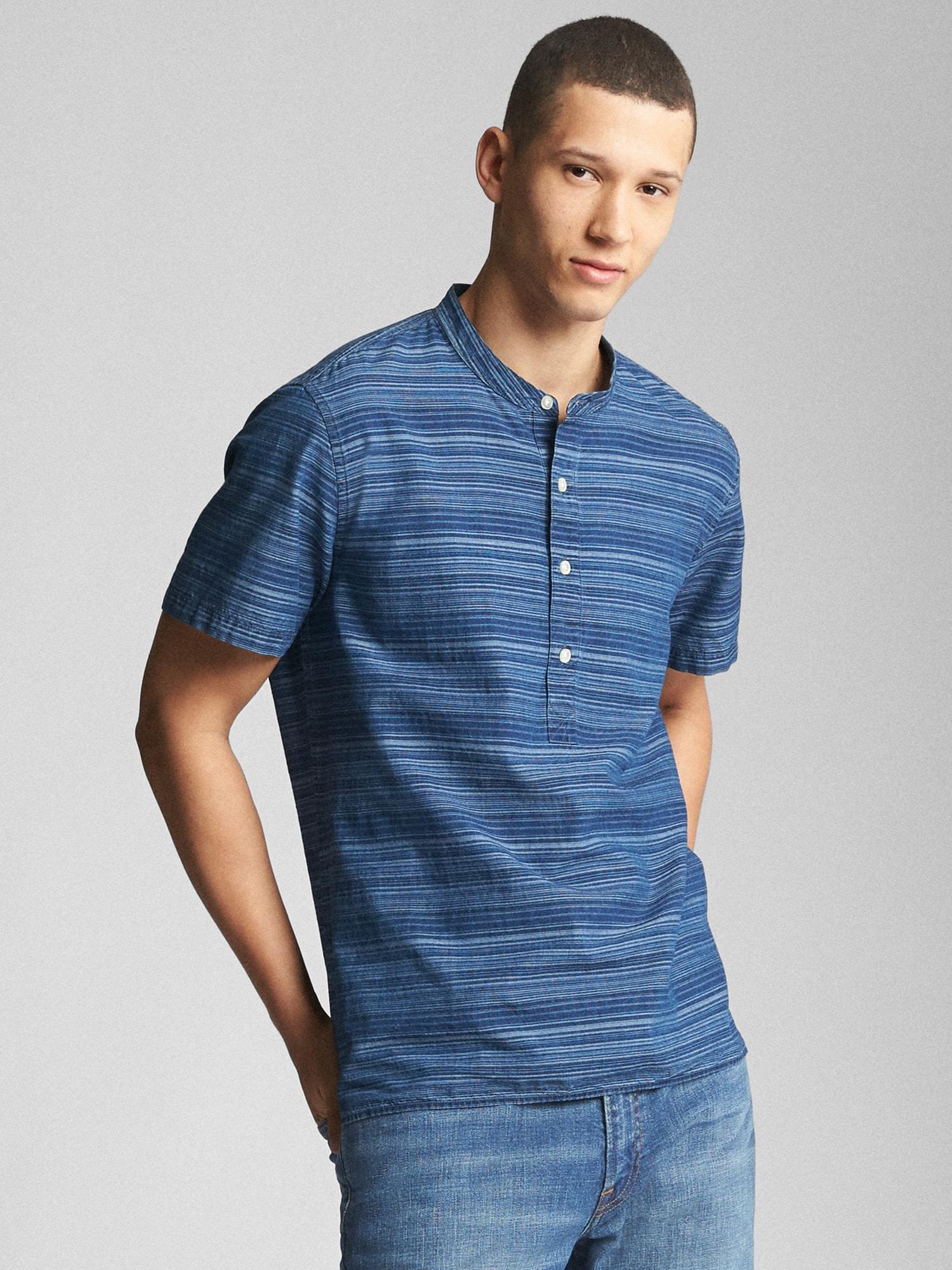644b199c964 Gap Slim Fit Denim Shirt - Cotswold Hire