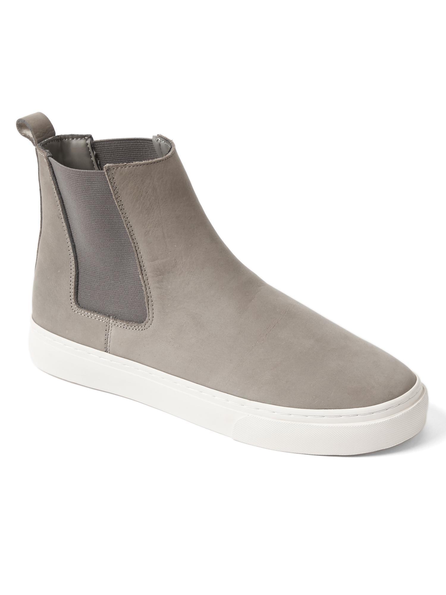 Gap Chelsea Boot Sneakers In Gray Light Grey Lyst