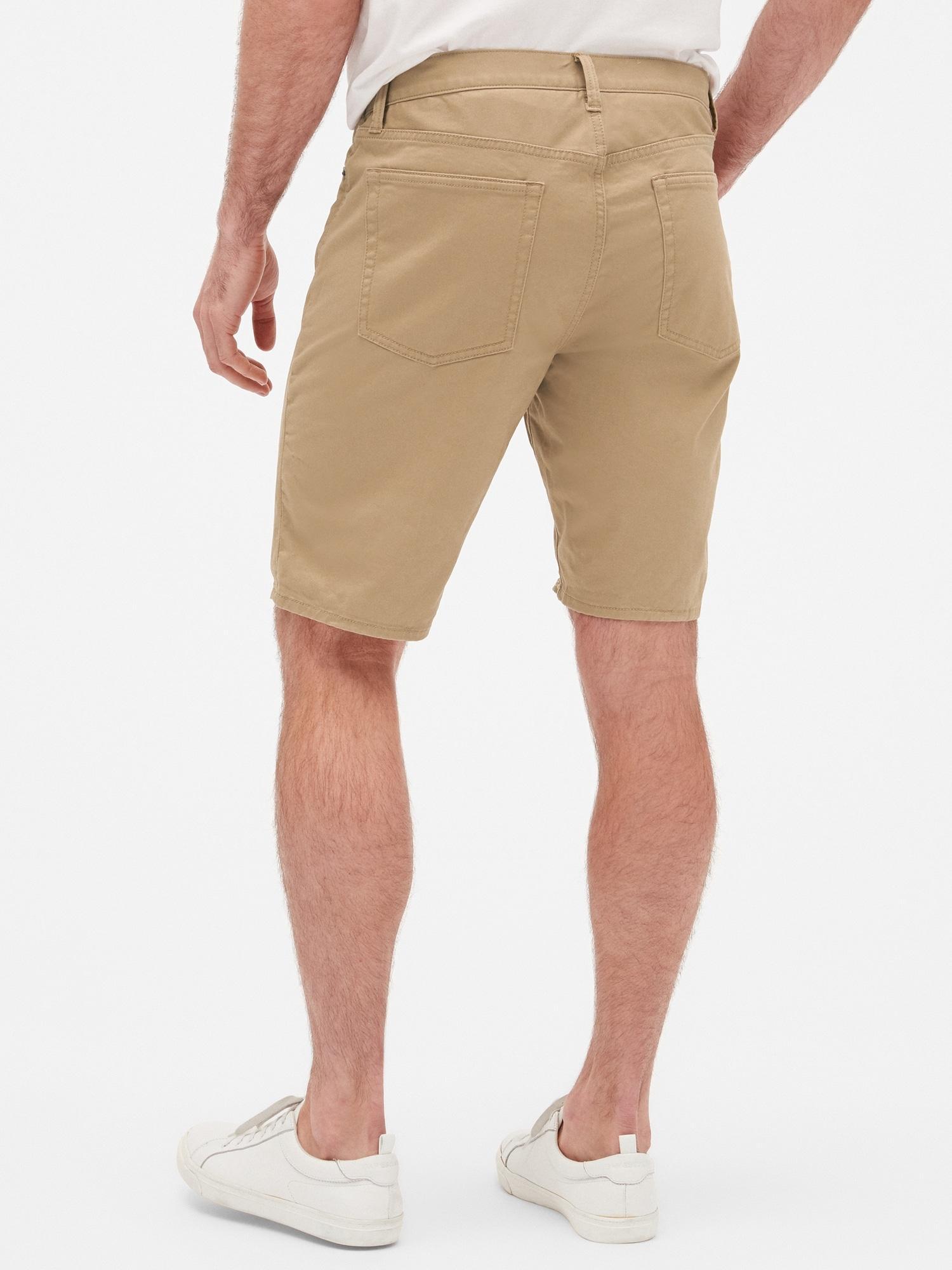 ec5e00ac9b Lyst - GAP Factory Twill Shorts With Gapflex for Men