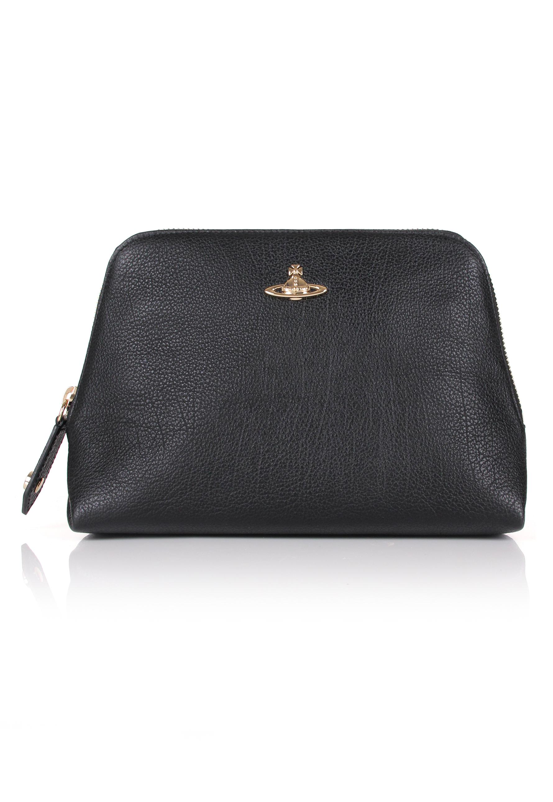 7e49861c533 Vivienne Westwood Balmoral 35099 Beauty Case Black in Black - Lyst