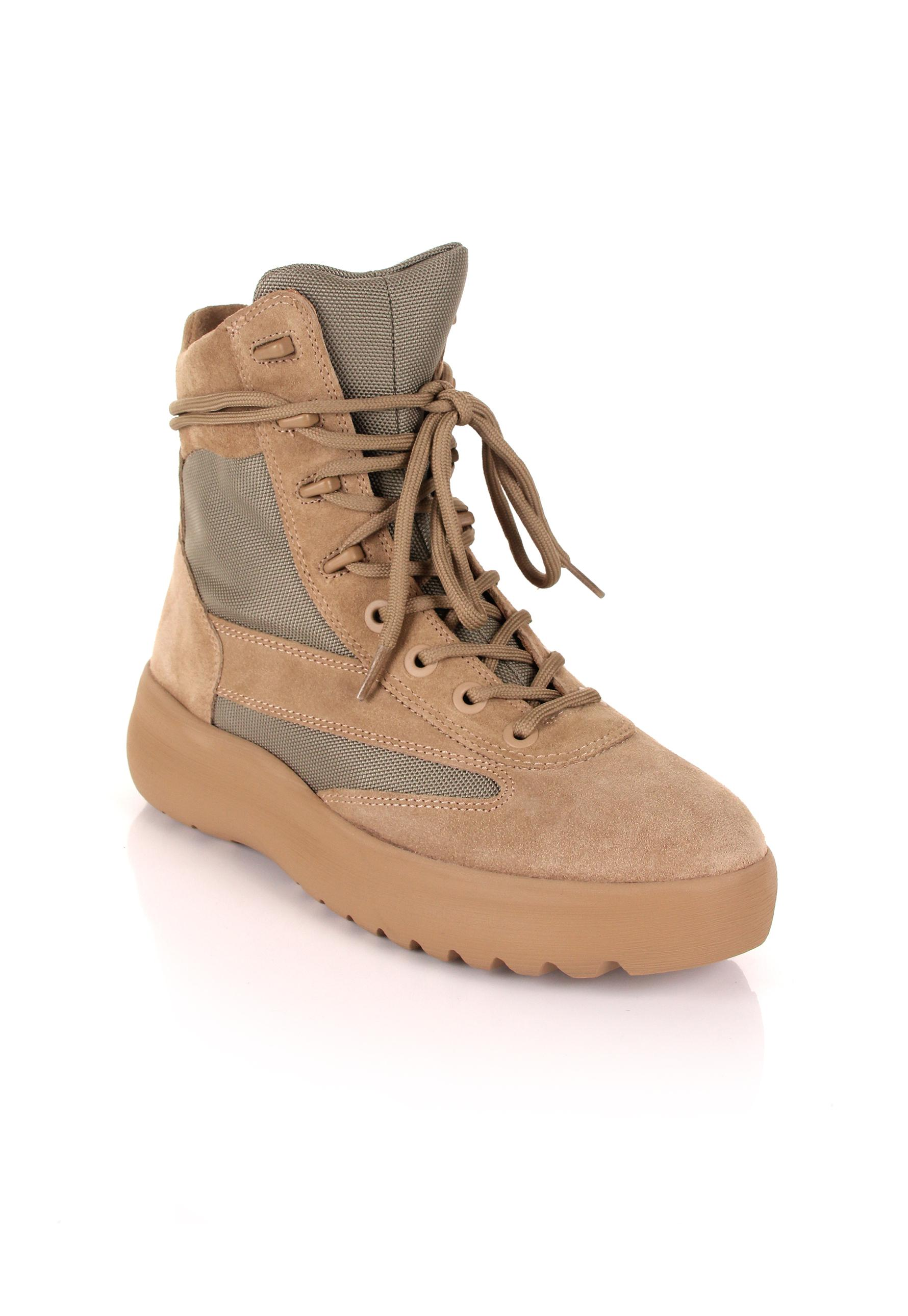 c8dfd52db9f3c Lyst - Yeezy Season 5 Military Boots Taupe in Brown for Men