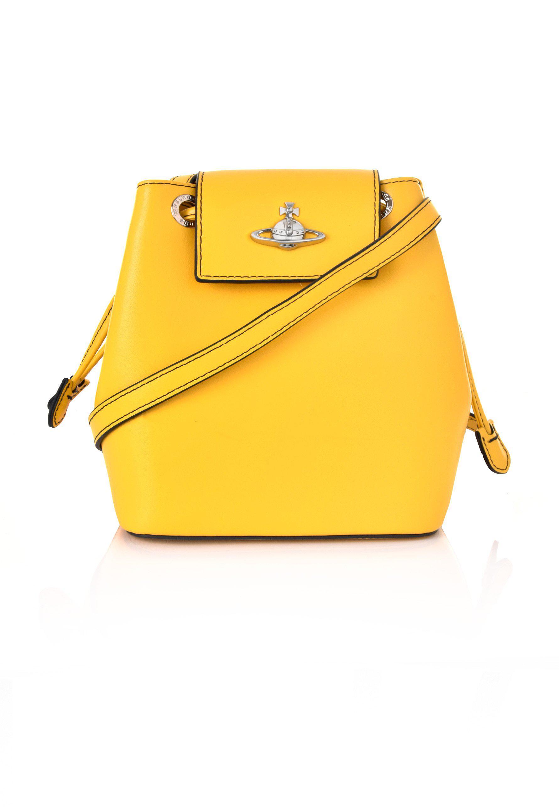 cf4c938befe Vivienne Westwood Matilda Bucket Bag 43020010 Yellow in Yellow - Lyst