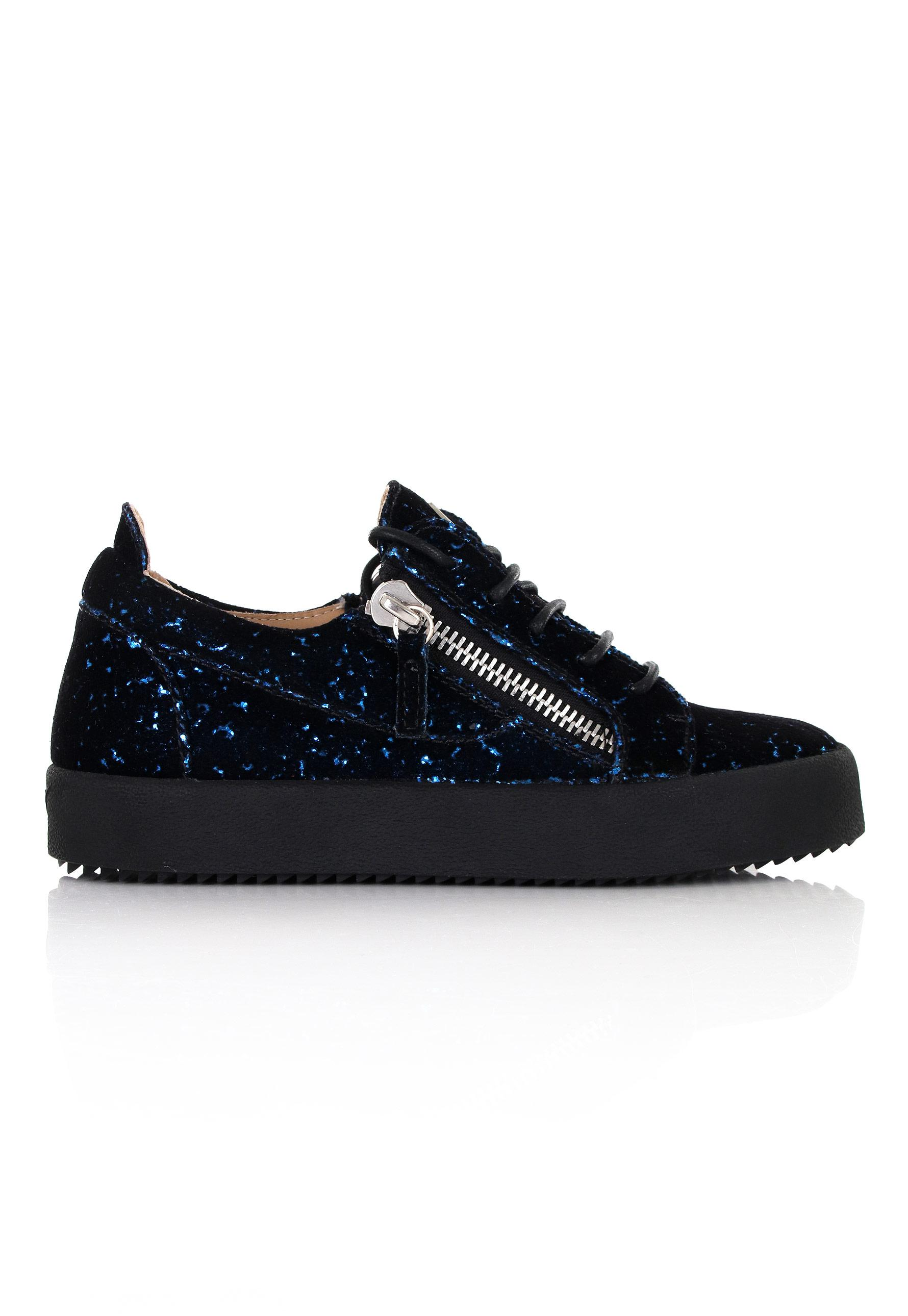 0fc2170a7b88 Giuseppe Zanotti Gail Glitter Low-top Sneakers Black in Black for ...