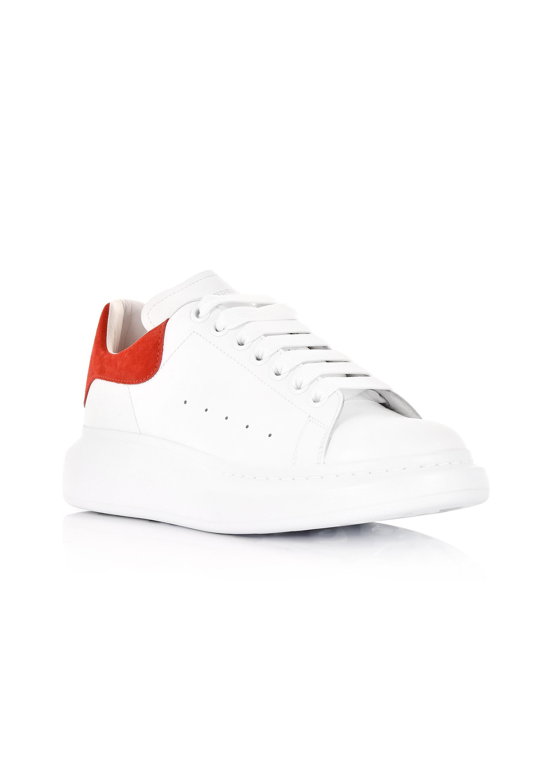 cca8d83ed503 Alexander McQueen Men s Oversized Sneakers White red in White for ...