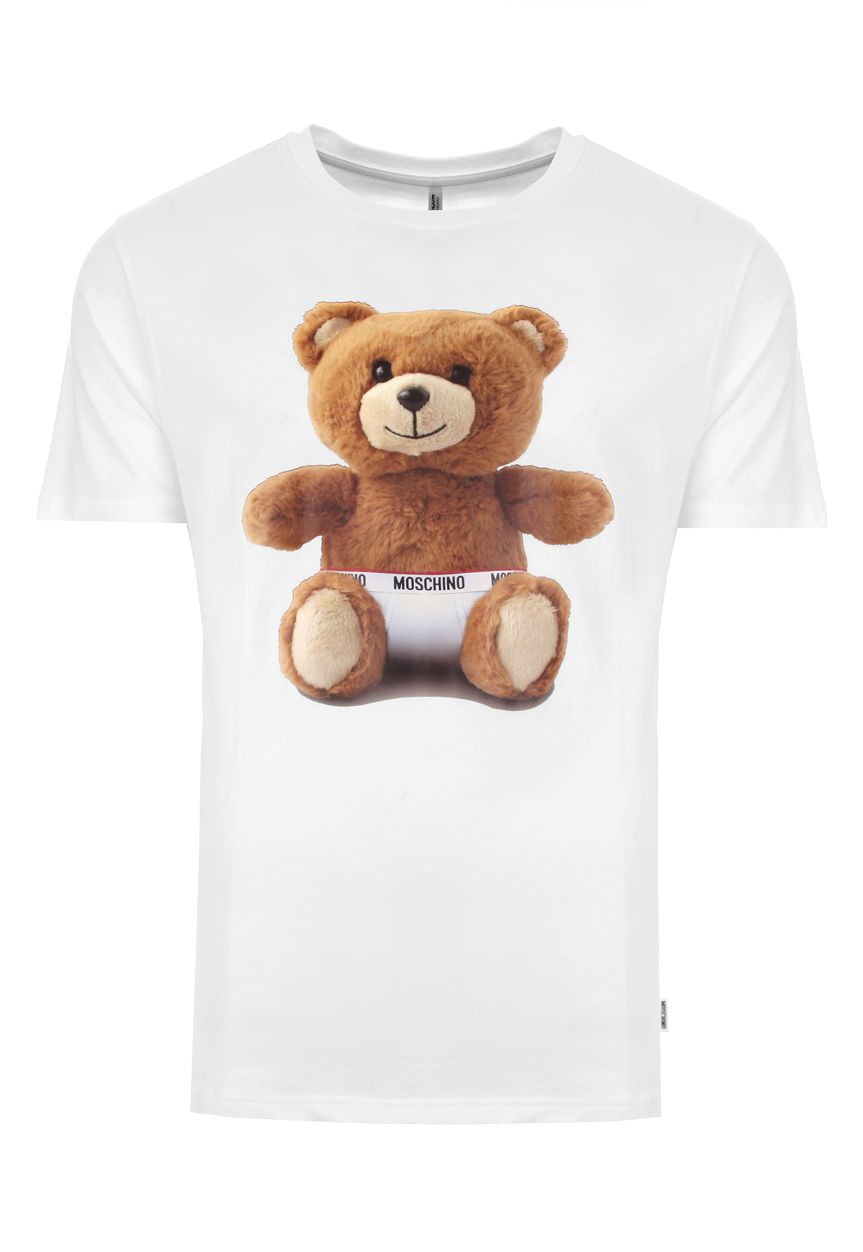 7d0ba9f4 Moschino Mens Teddy Bear T Shirt White in White for Men - Lyst