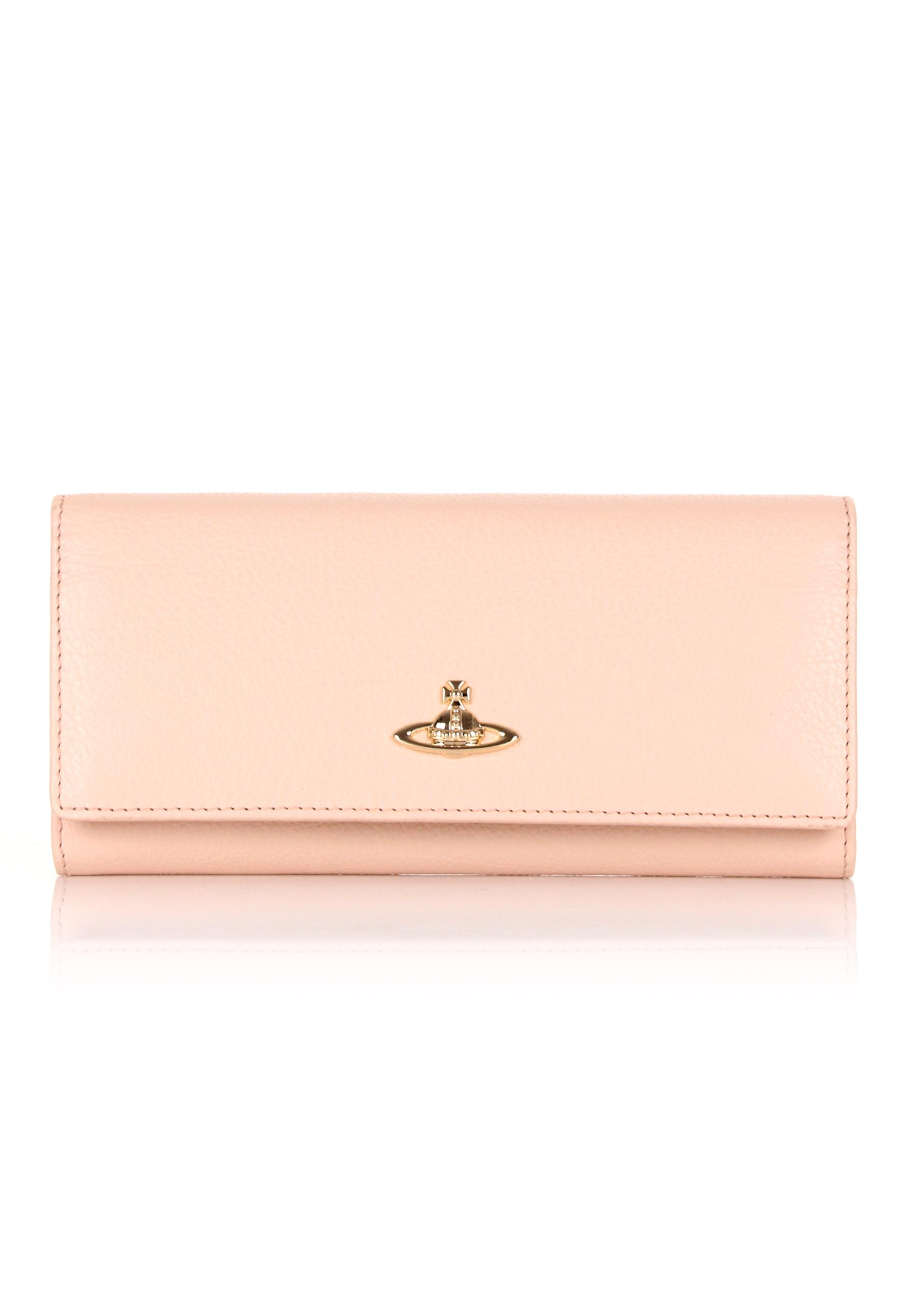 b84815176 Vivienne Westwood Balmoral 321387 Long Purse Pink/cream in Pink - Lyst