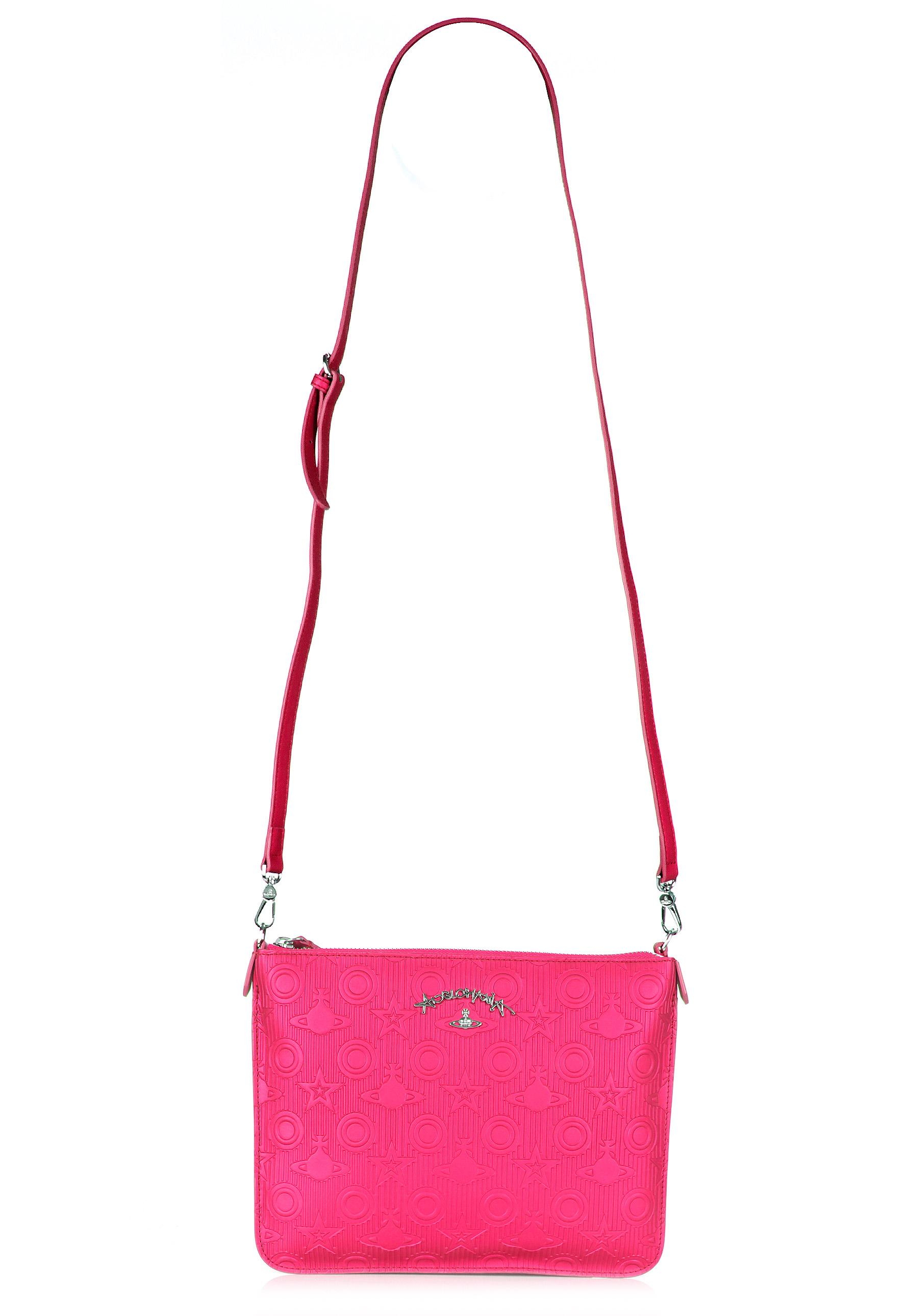 e01606085447 Lyst - Vivienne Westwood Chilham 190009 Crossbody Bag Pink in Pink