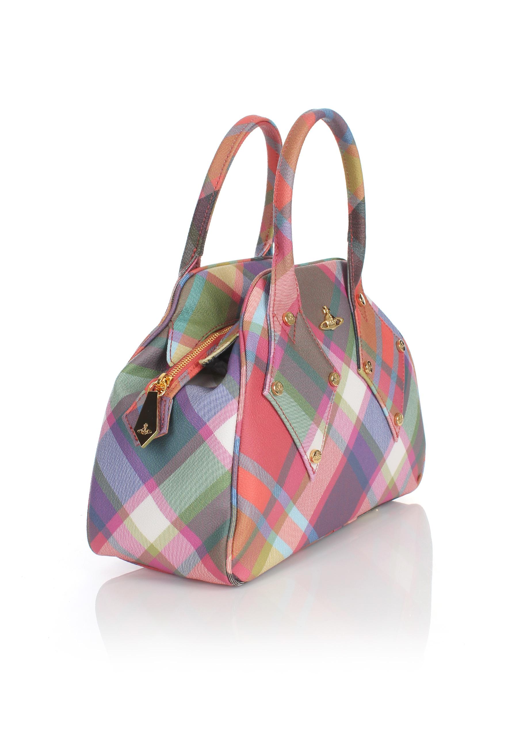 118fcc2124e Vivienne Westwood Derby 6673 Yasmine Bag Harlequin in Pink - Lyst