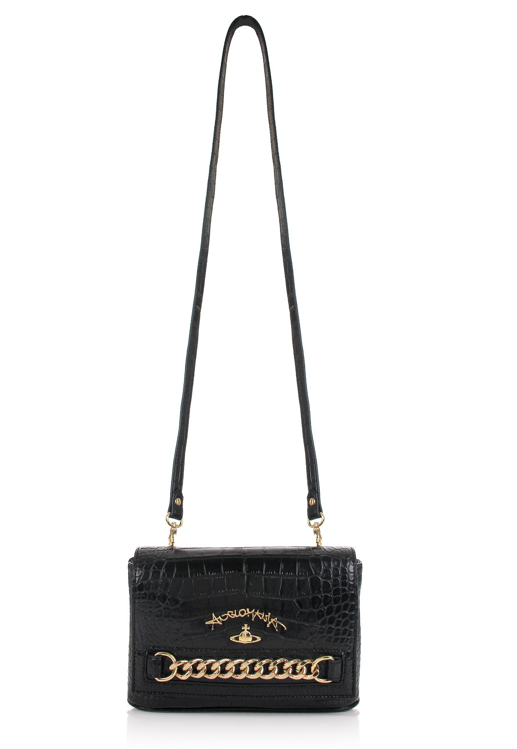 Lyst - Vivienne Westwood Dorset 7269 Small Crossbody Bag Black in Black e66879229f3dd