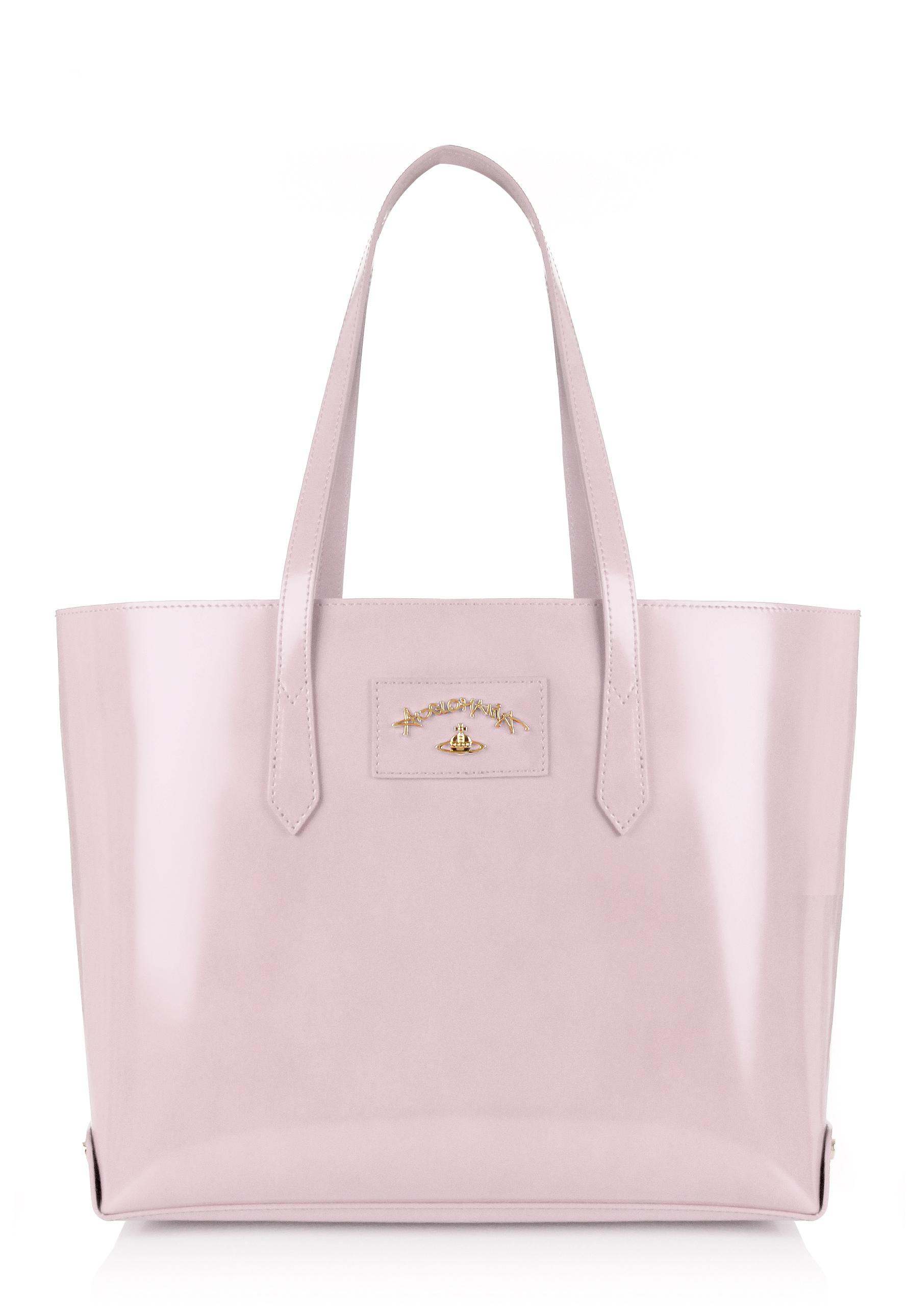4581bbb817d Vivienne Westwood Newcastle 7251 Large Shopping Bag Rose in Pink - Lyst