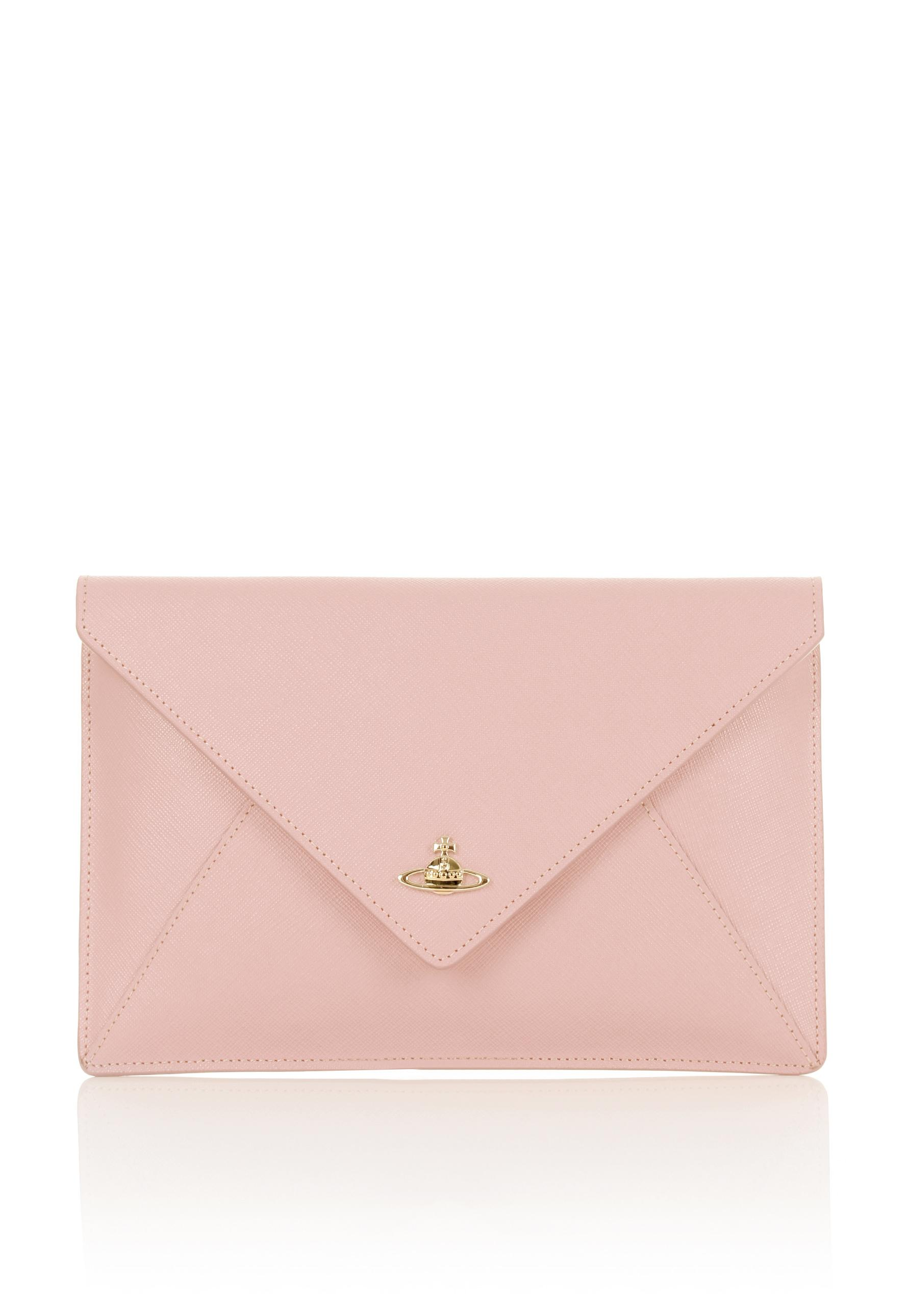 feaac9217f3 Vivienne Westwood Pouch 7040 Envelope Clutch Pink in Pink - Lyst