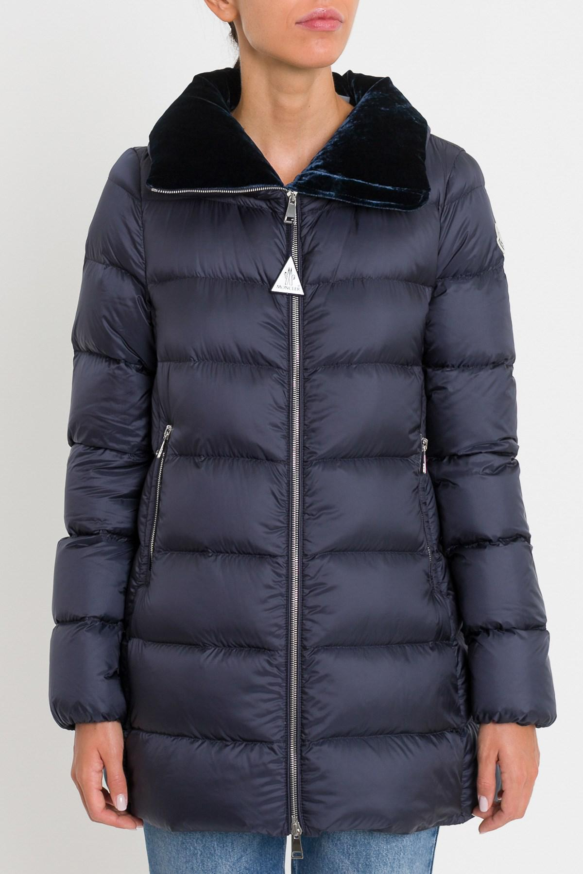 2df331c09 Lyst - Moncler Torcol Caban in Blue