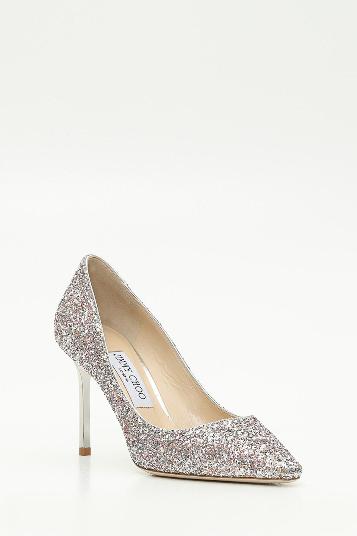 6cd2263f8bc1 Jimmy Choo Viola Mix Speckled Glitter Pointy Toe - Lyst
