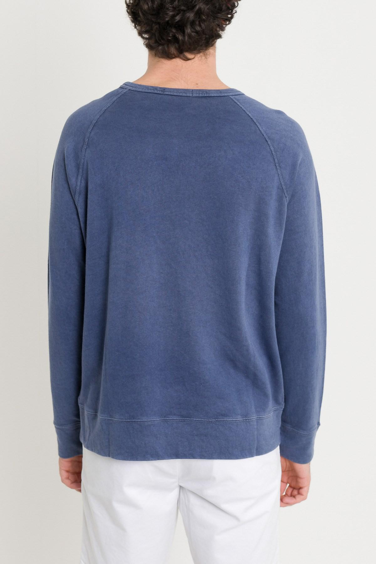 67b4bf8d164b Polo Ralph Lauren - Blue Logo Sweatshirt for Men - Lyst. View fullscreen