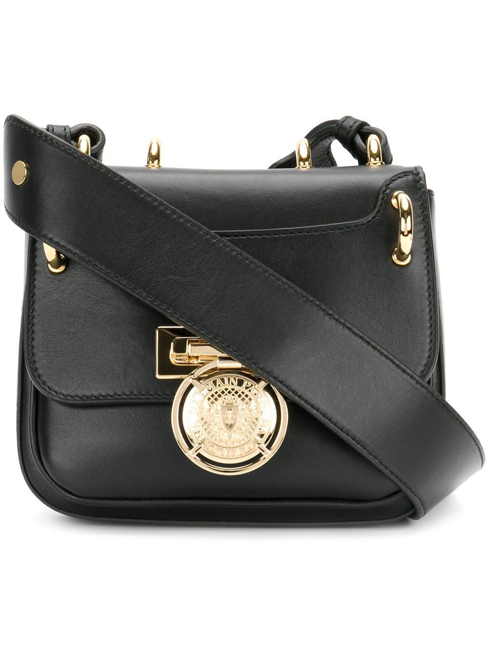 9ee8a95ba4 Lyst - Balmain Renaissance 18 Crossbody Bag in Black