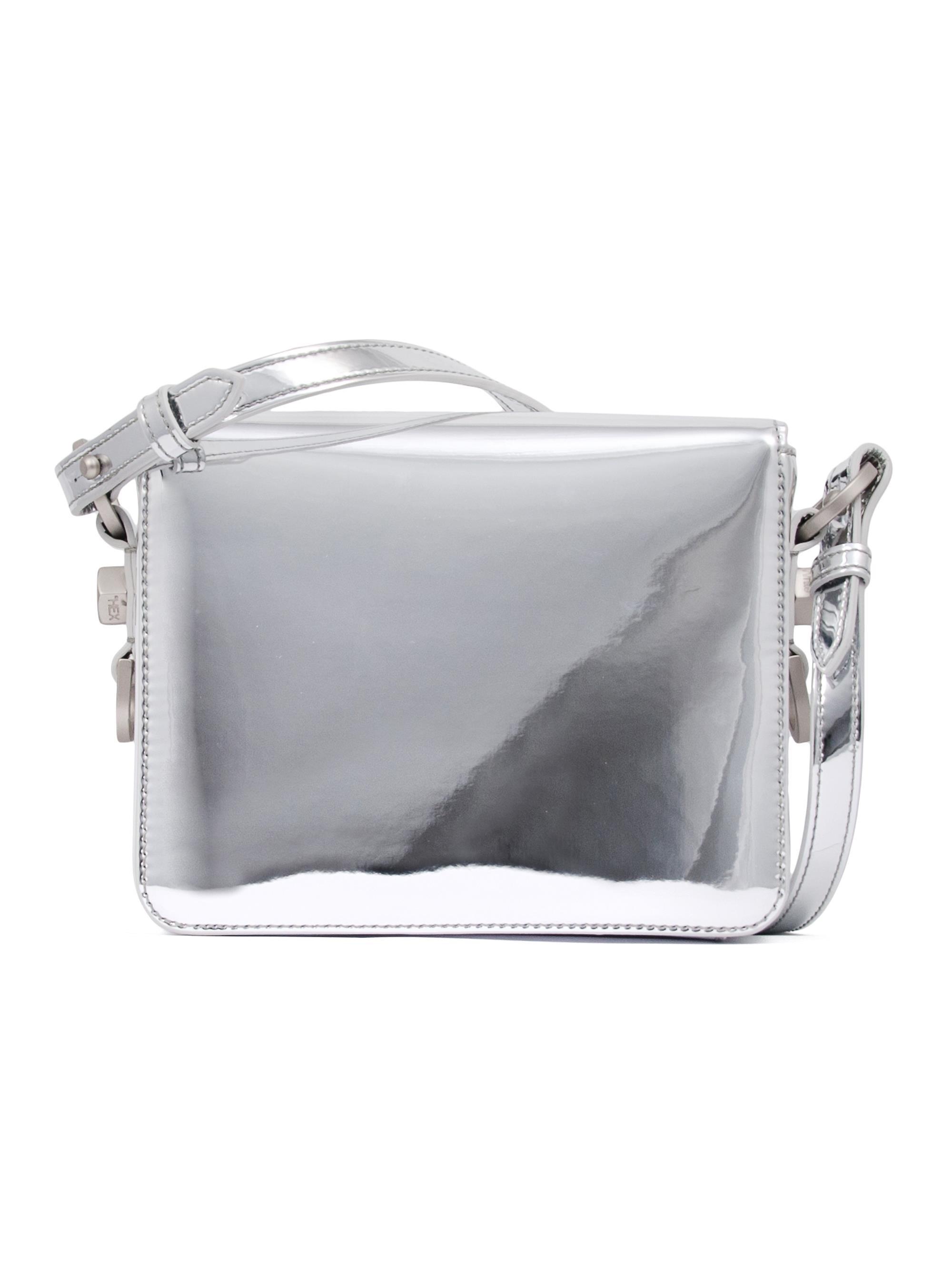 6664e5b5a84bd8 Off-White c/o Virgil Abloh Binder Clip Mirror Bag - Lyst