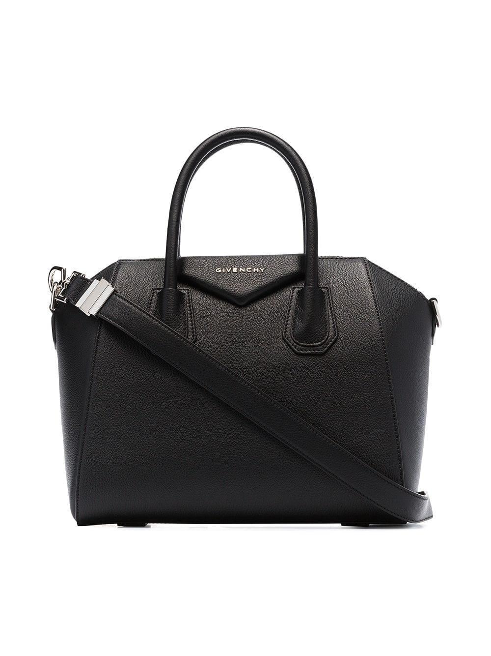 5e07060b24 Lyst - Givenchy Black Mini Antigona Bag in Black - Save 32%