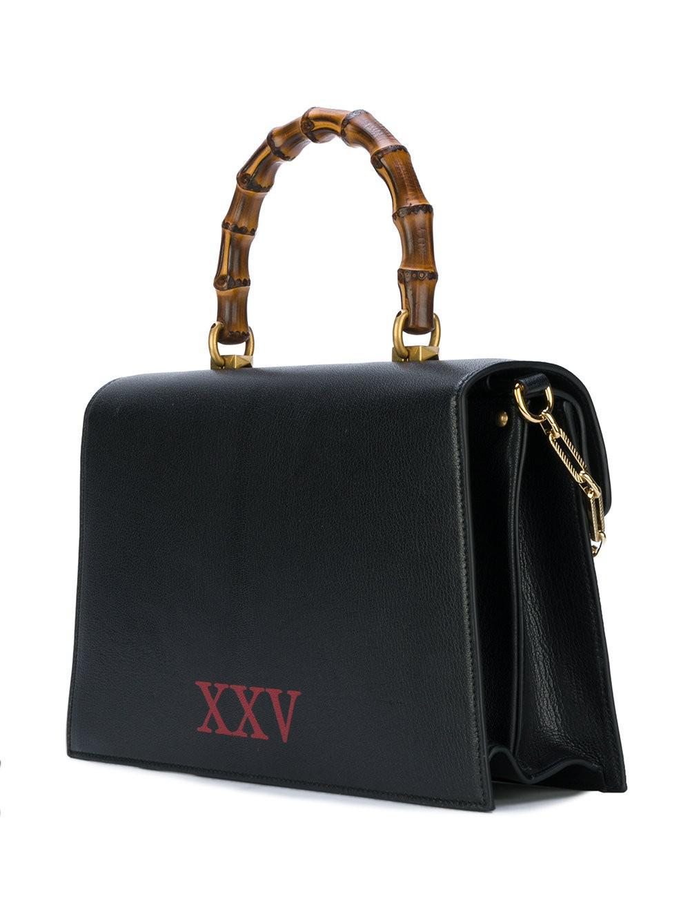 d5c49a94314 Lyst - Gucci Leather Top Handle Bag Ottilia