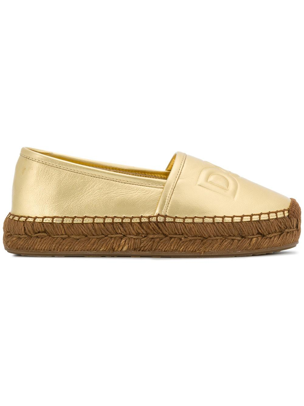 Professional  Dolce & Gabbana Espadrilles AH465 nappa leather Logo Free Shipping Official Site Outlet Popular Outlet Sast Clearance Store Sale Online zs5Cgxp