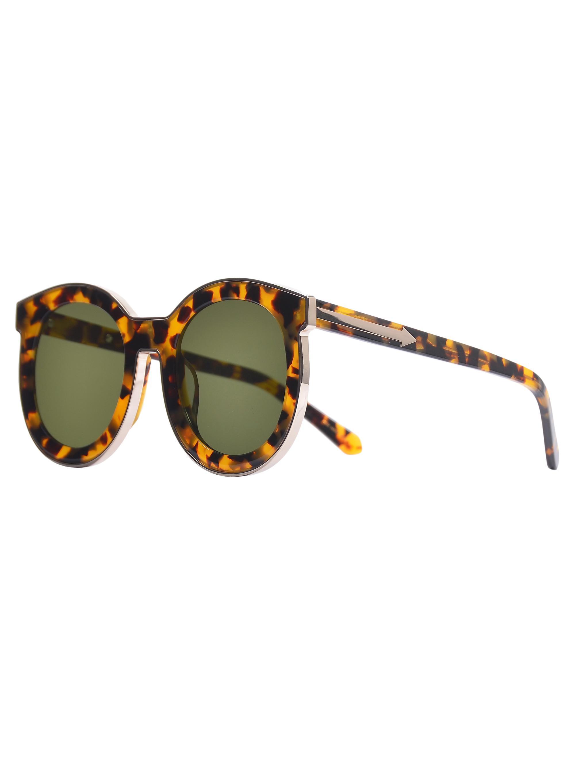 07dfd4a770d8 Lyst - Karen Walker Super Spaceship Sunglasses