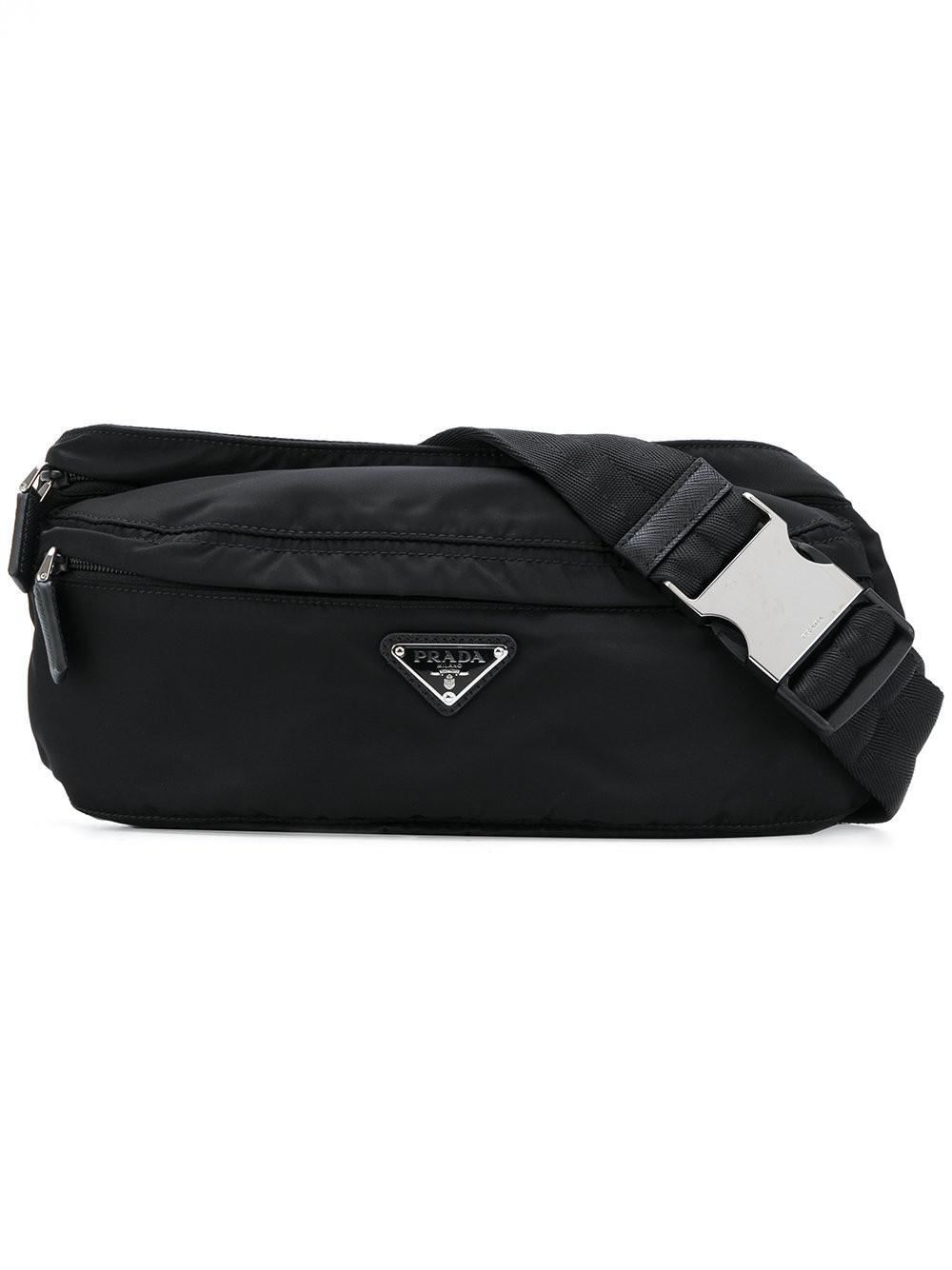 317c62f9e65a Prada Fanny Pack Style Bag in Black for Men - Lyst