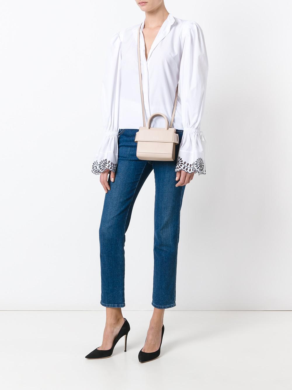 7fff90e8ed9 Lyst - Givenchy Horizon Nano Leather Crossbody Bag