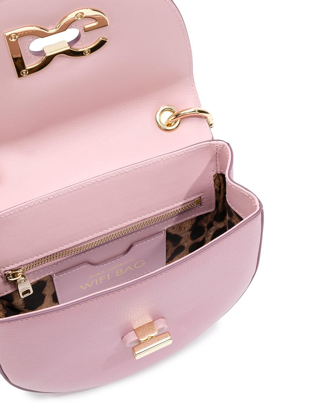 Acheter Pas Cher Officiel Dolce & Gabbana Médias Sac Mortuaire Croix Wifi - Rose Et Violet Bonne Vente À La Recherche De La Vente En Ligne hCgR6KcK2