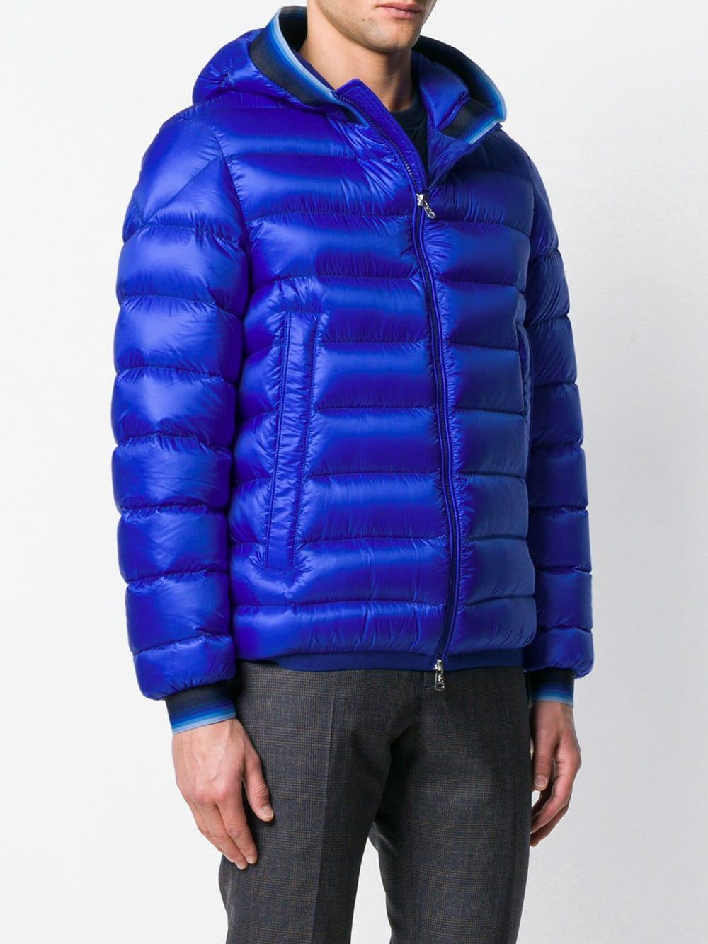 Moncler Blue Avrieux Jacket for men