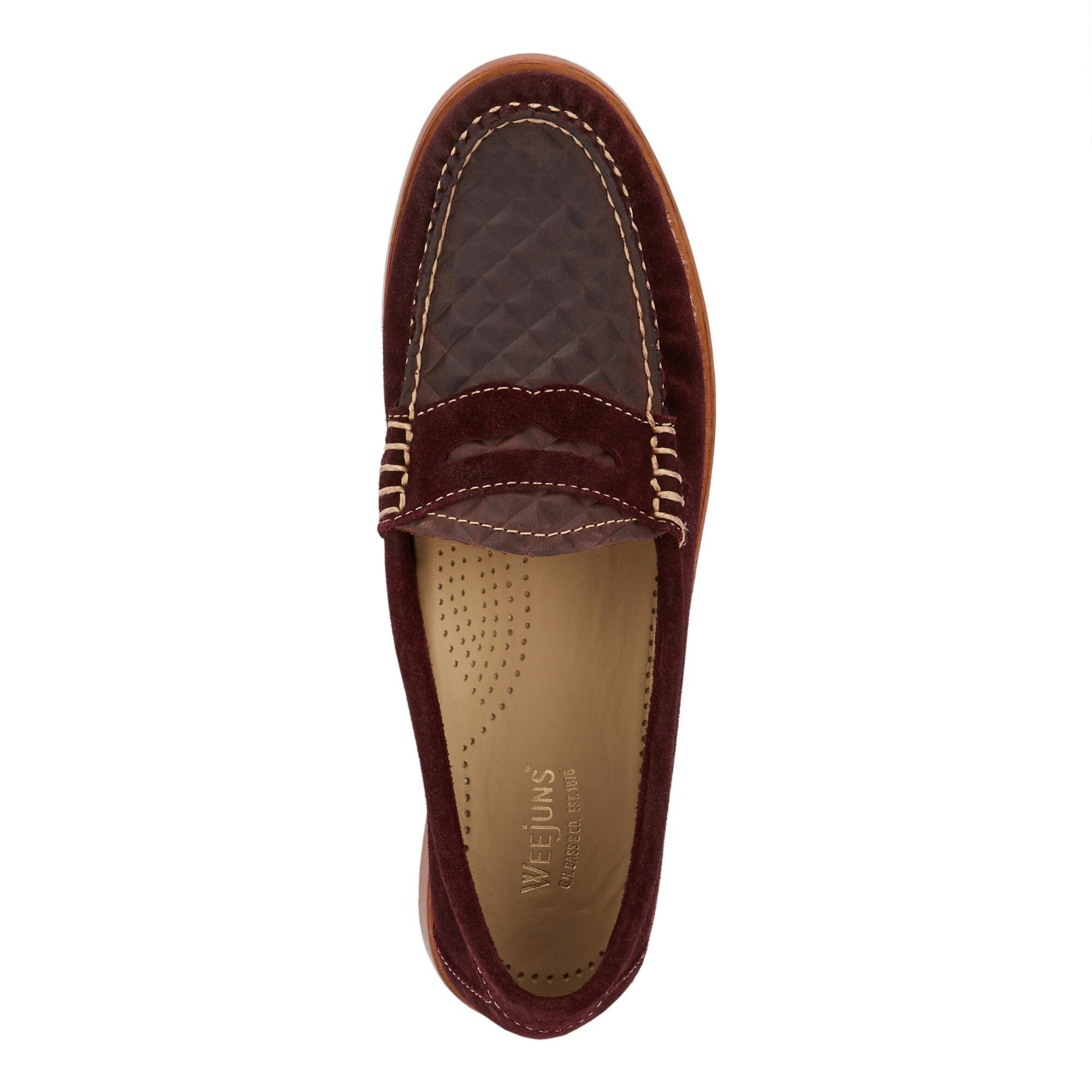 d16ac8f9460 Lyst - G.H.BASS Whitney Embossed Weejuns for Men