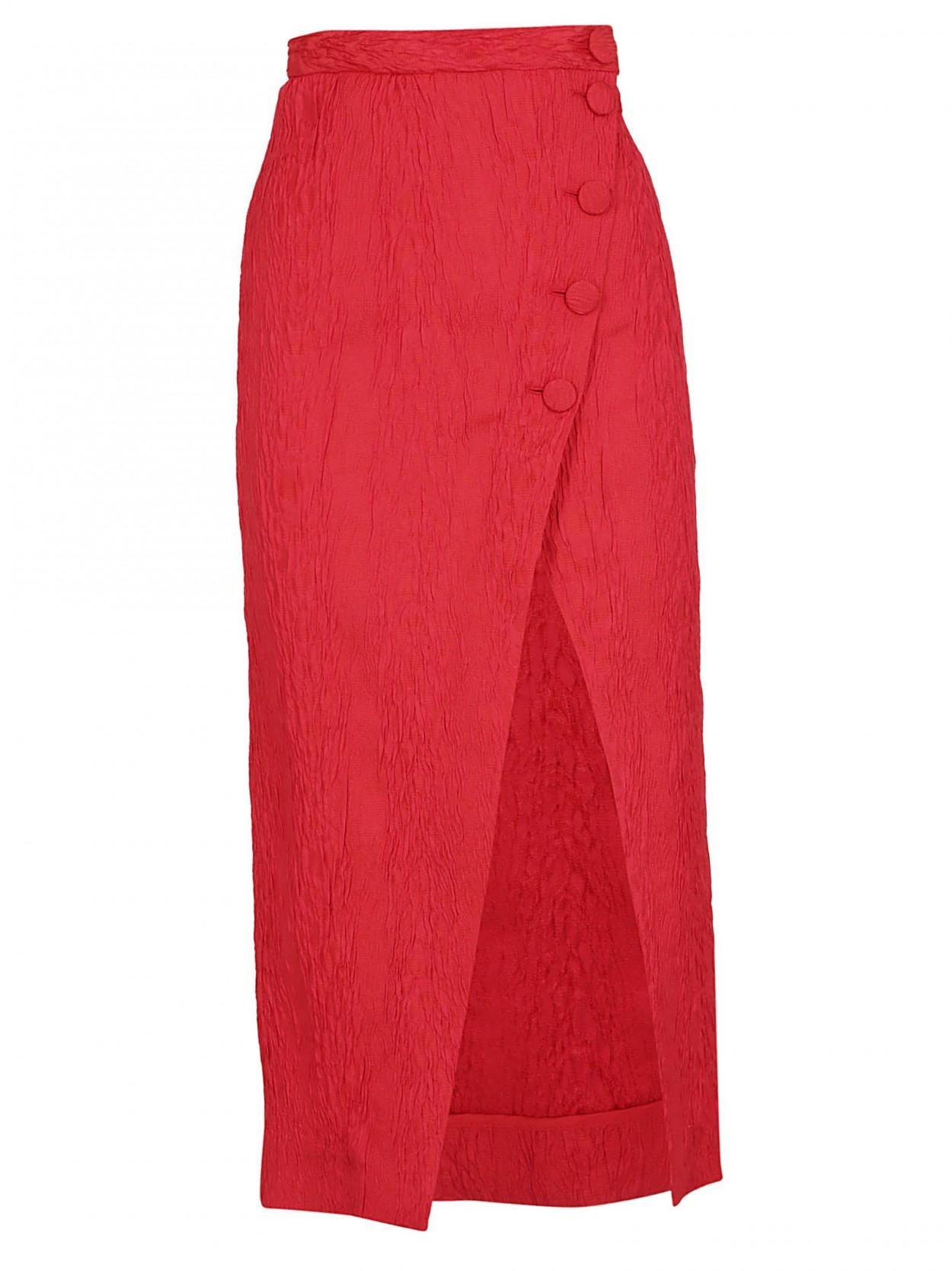 809a3ad10b Lyst - ALEXACHUNG ALEXA CHUNG gonna pencil rossa in Red