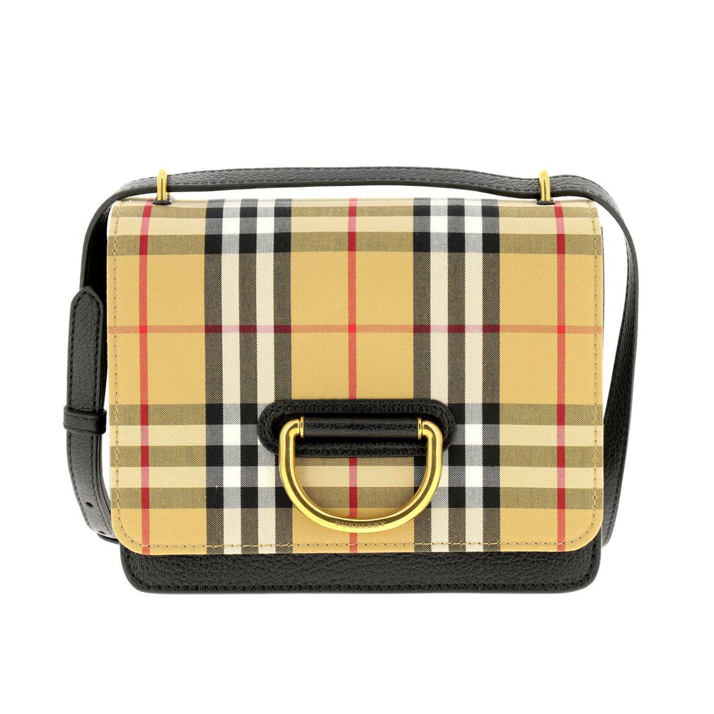 Lyst - Burberry Mini Bag Shoulder Bag Women in Black e28a839ab