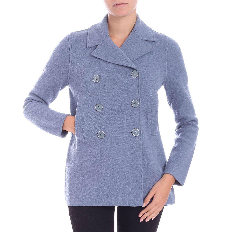 3f153dd3db9 Emporio Armani Jacket Women in Blue - Lyst