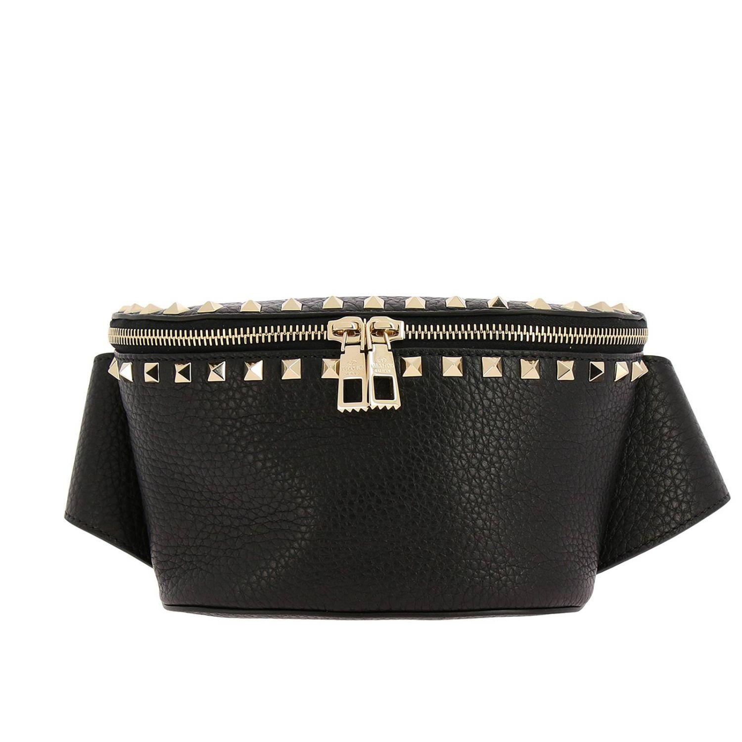 f19b2c4b4fab Lyst - Valentino Belt Bag Shoulder Bag Women in Black