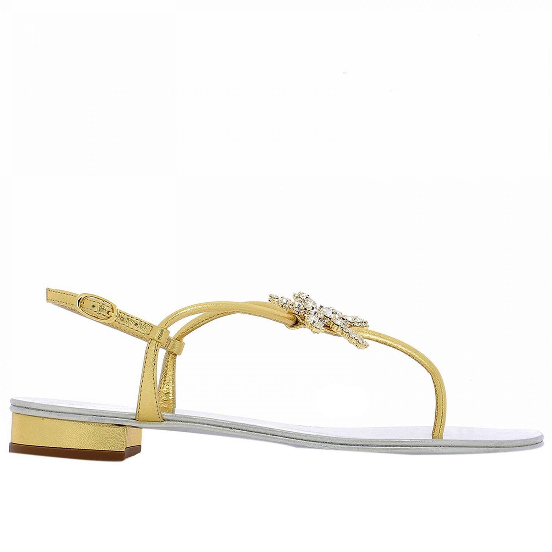 94c5672ca5d7 Lyst - Giuseppe Zanotti Shoes Women in Metallic