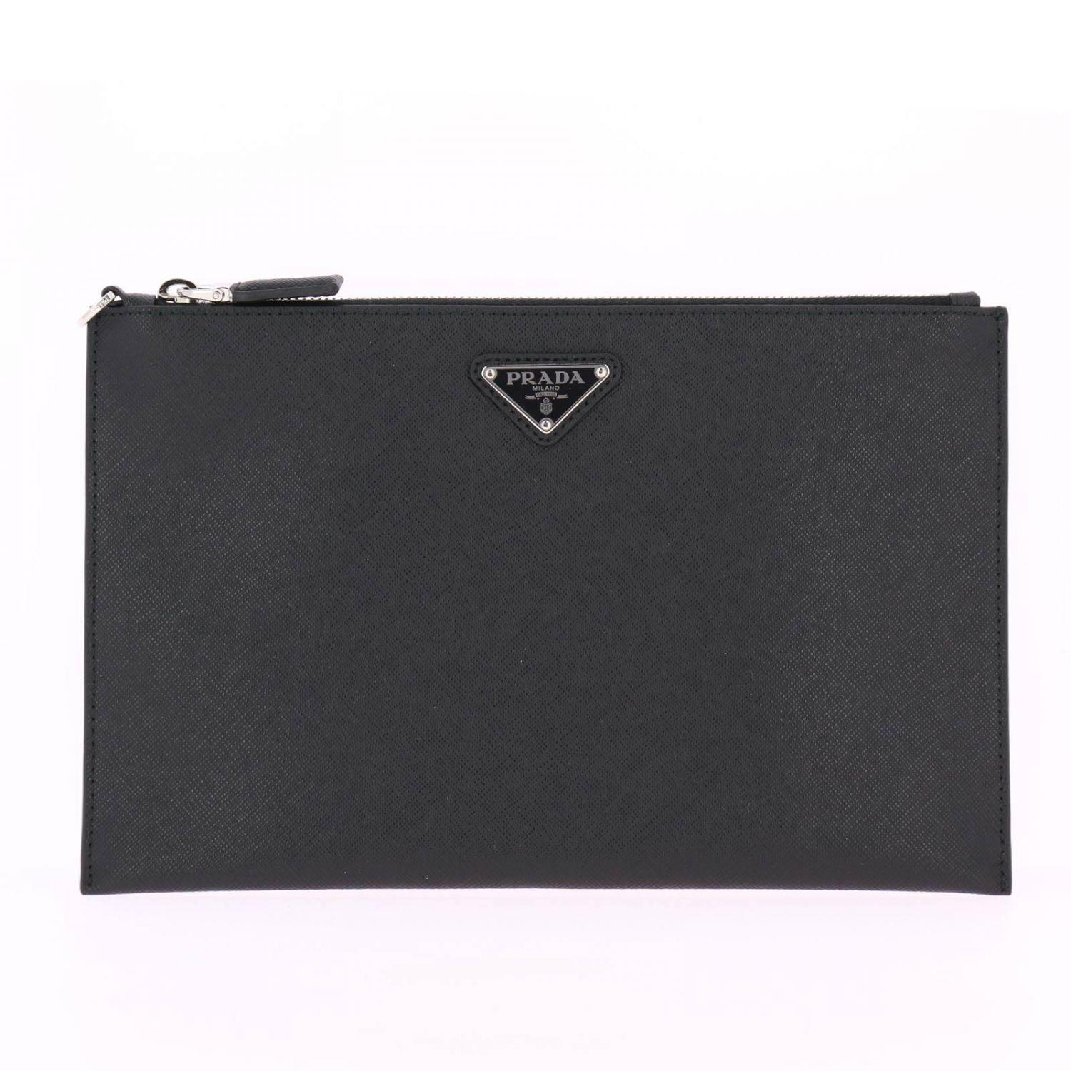 82573d32befd Prada Bags Men in Black for Men - Lyst
