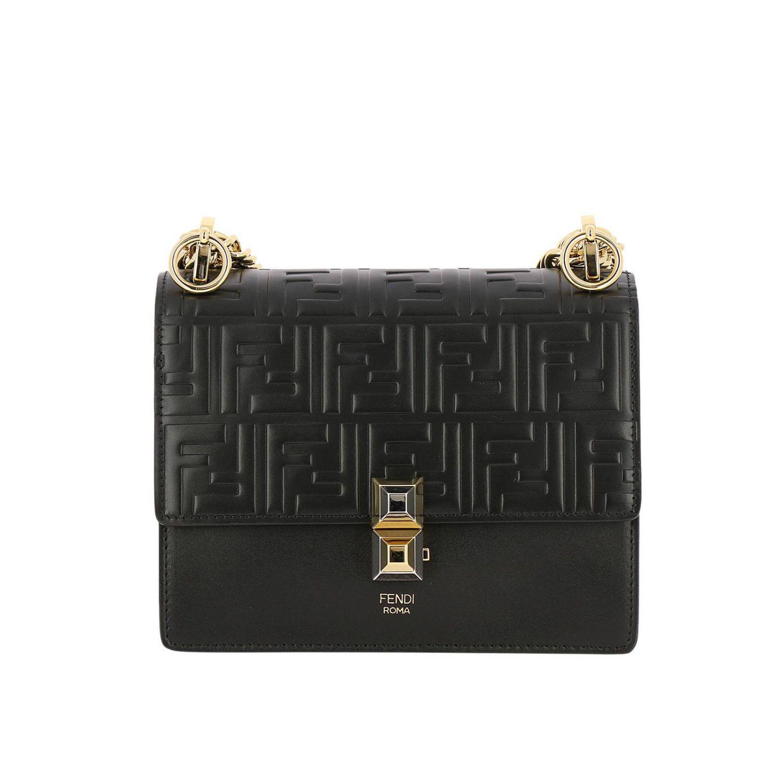 f459049f0510 Fendi Mini Bag Shoulder Bag Women in Black - Lyst