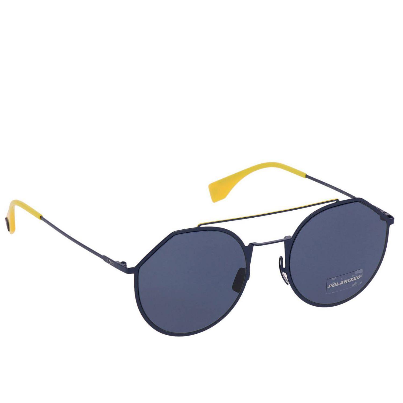 635c055afc02 Lyst - Lunettes homme Fendi pour homme en coloris Bleu