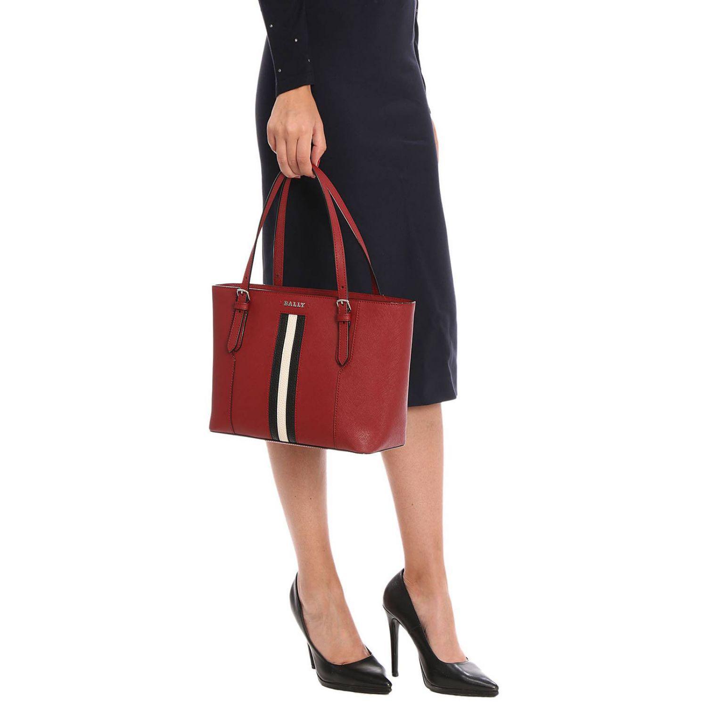 Bally - Red Handbag Shoulder Bag Women - Lyst. View fullscreen a8c9ae72e8a4c
