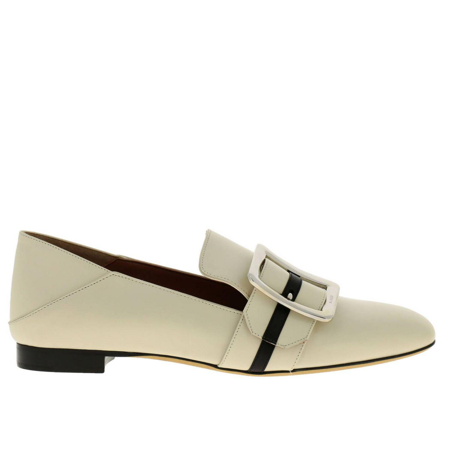 2bd5795e7a6d2 Bally Loafers Shoes Women in Natural - Lyst