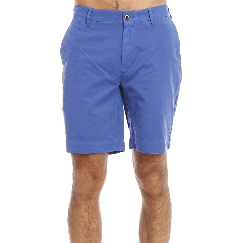 polo ralph lauren men 39 s trouser in blue for men lyst. Black Bedroom Furniture Sets. Home Design Ideas