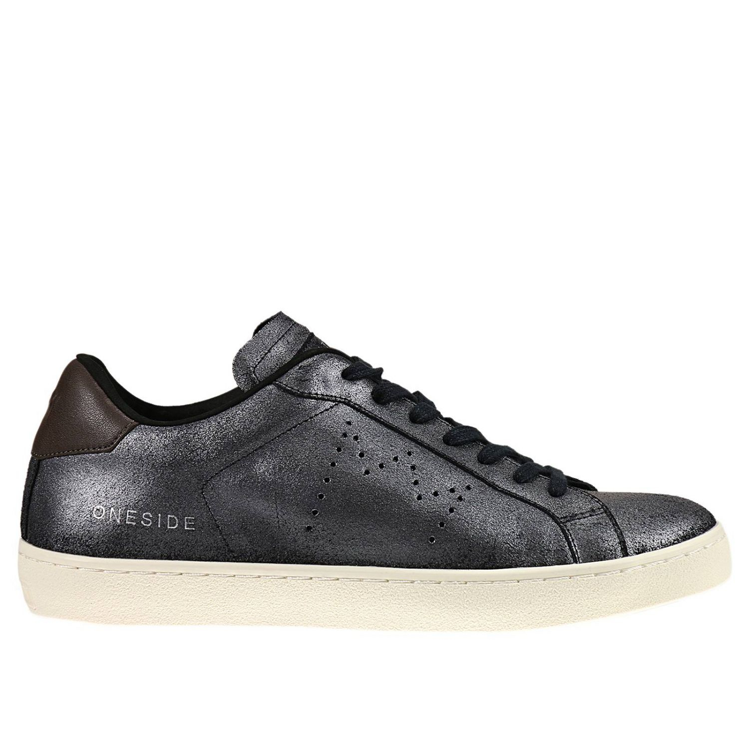 https   www.lyst.com shoes leather-crown-sneakers-shoes-man-lead ... 4a82f2ee6c