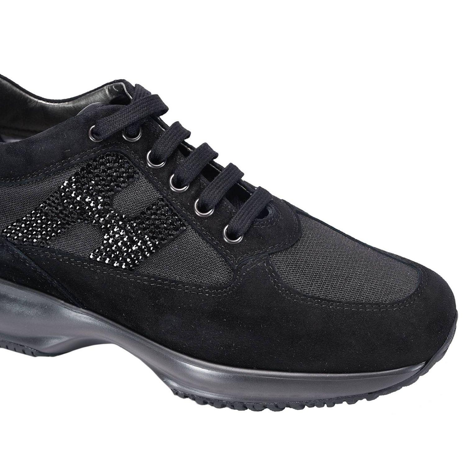 Lyst Hogan Sneakers Shoes Women In Black