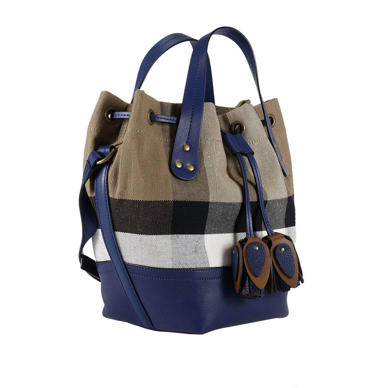 Lyst - Burberry Handbag Shoulder Bag Women in Blue